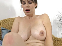 Awesome brunette mom i... preview