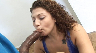 Pornostar, Interracial, Teen, Schwarz, Blowjob